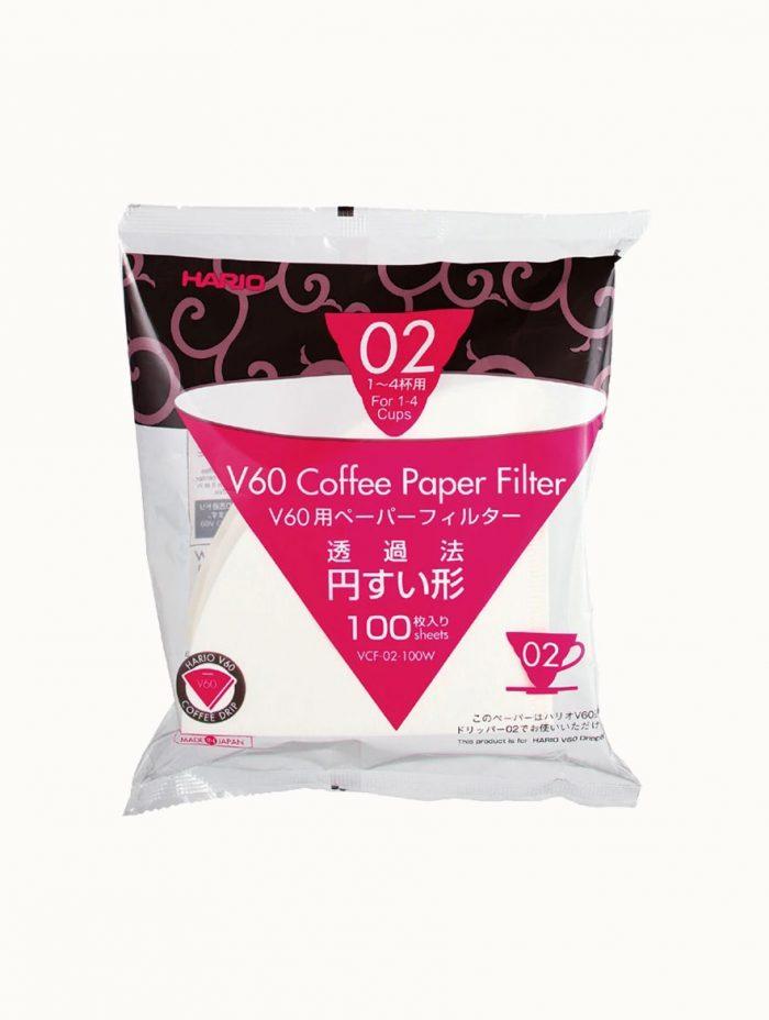 Hario V60 Paper Filter 02 - 100-pack
