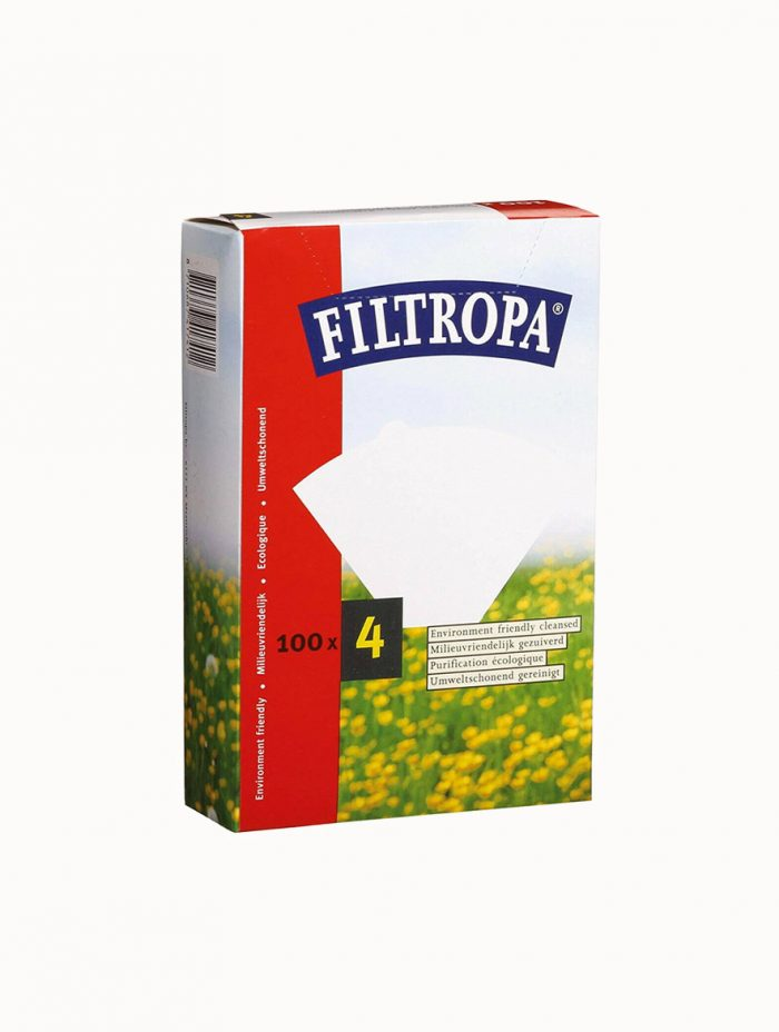 Filtropa #4 Coffee Filter Paper - 100 pack