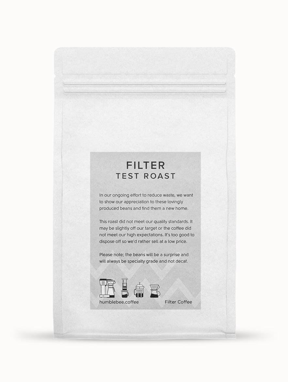 Filter Coffee Test Roast