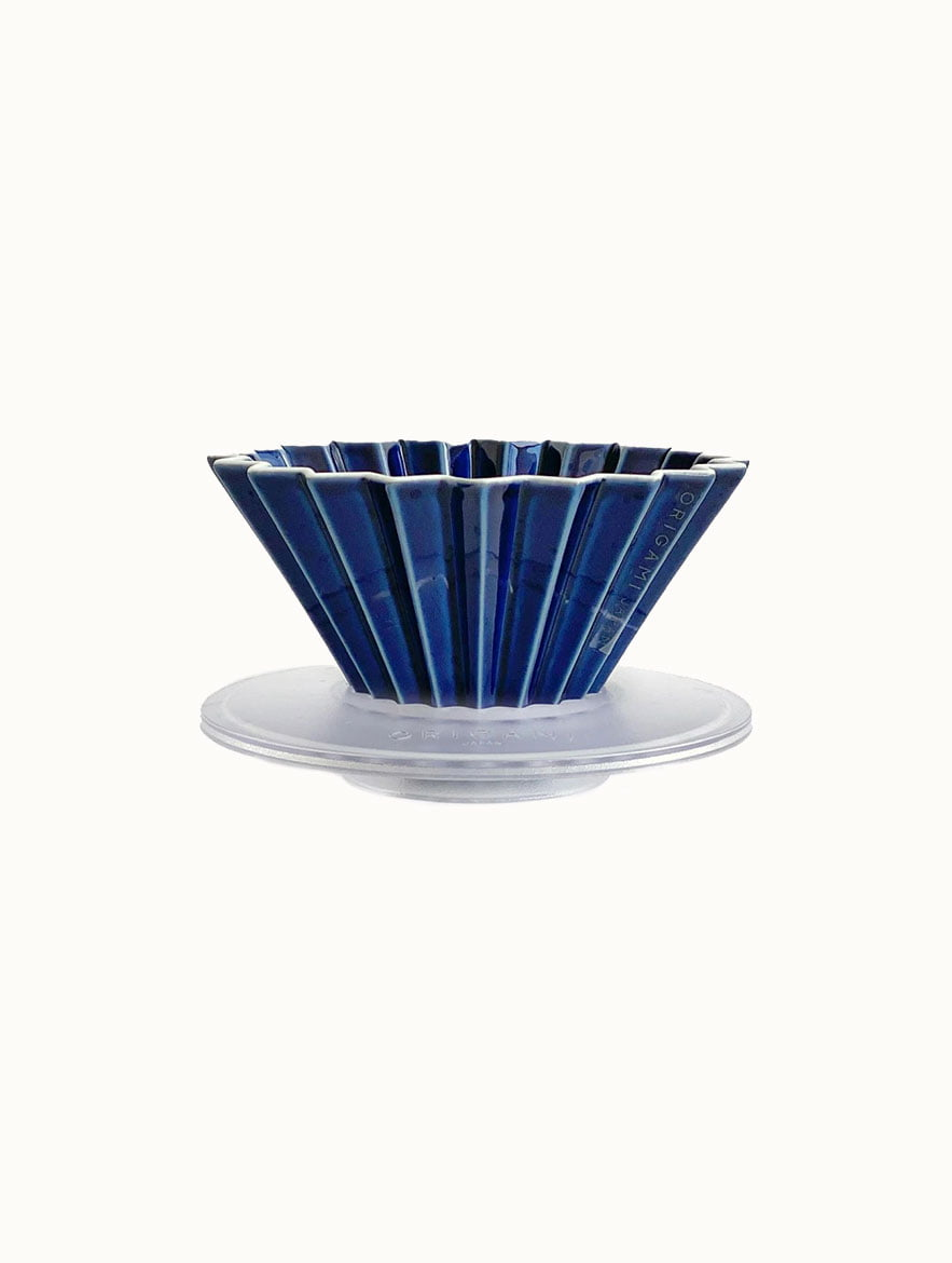 Navy Origami Dripper With AS Holder