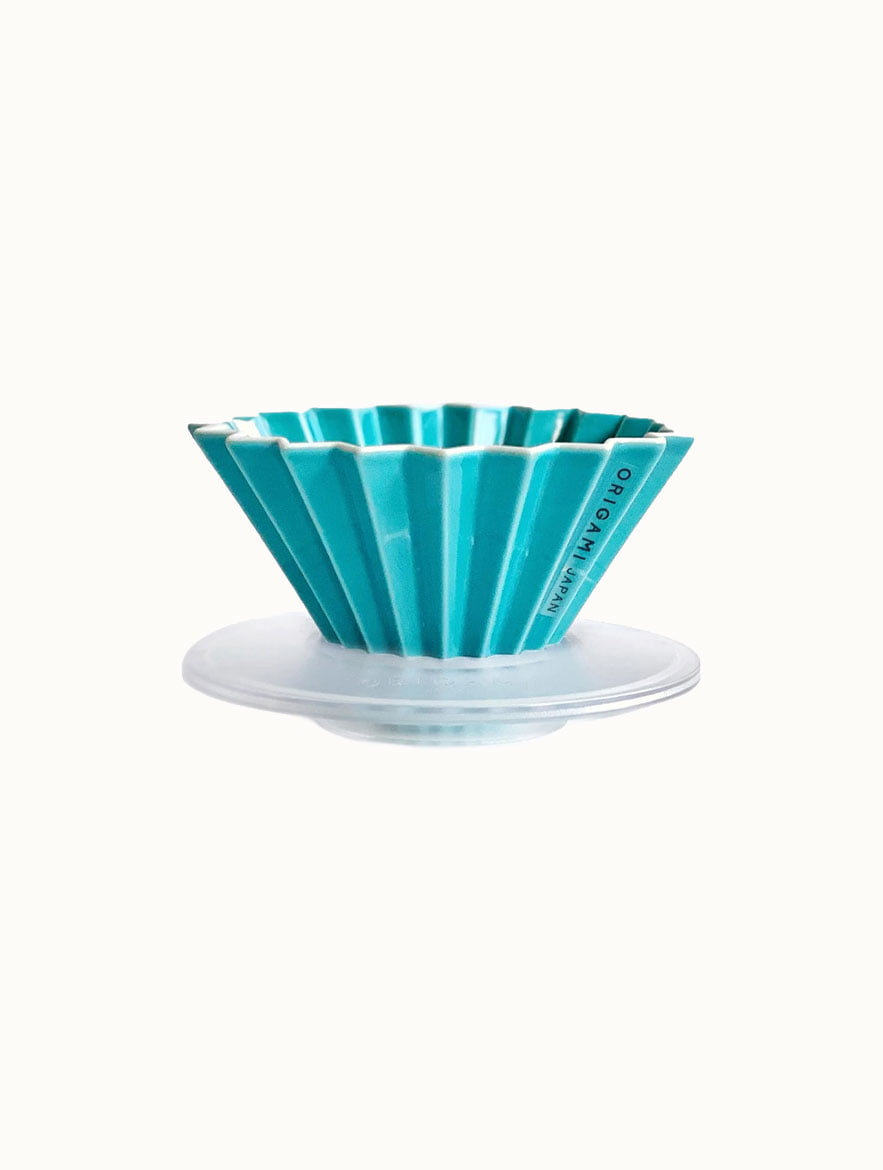 Turquoise Origami Dripper With AS Holder